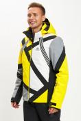 Оптом Горнолыжная куртка мужская желтого цвета 77015J в Екатеринбурге, фото 8