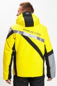 Оптом Горнолыжная куртка мужская желтого цвета 77015J в Екатеринбурге, фото 7