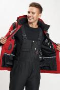 Оптом Горнолыжная куртка мужская красного цвета 77015Kr в Екатеринбурге, фото 11