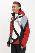 Оптом Горнолыжная куртка мужская красного цвета 77015Kr в Екатеринбурге, фото 3