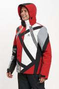 Оптом Горнолыжная куртка мужская красного цвета 77015Kr в Екатеринбурге, фото 7