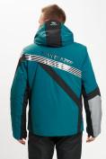 Оптом Горнолыжная куртка мужская темно-зеленого цвета 77015TZ в Екатеринбурге, фото 9