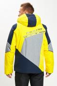 Оптом Горнолыжная куртка мужская желтого цвета 77016J в Екатеринбурге, фото 7