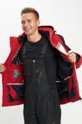 Оптом Горнолыжная куртка мужская красного цвета 77016Kr в Екатеринбурге, фото 9