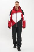 Оптом Горнолыжная куртка мужская красного цвета 77016Kr в Екатеринбурге, фото 11