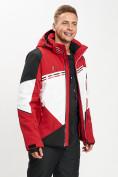 Оптом Горнолыжная куртка мужская красного цвета 77016Kr в Екатеринбурге, фото 4