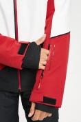 Оптом Горнолыжная куртка мужская красного цвета 77016Kr в Екатеринбурге, фото 8