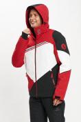 Оптом Горнолыжная куртка мужская красного цвета 77016Kr в Екатеринбурге, фото 6