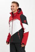 Оптом Горнолыжная куртка мужская красного цвета 77016Kr в Екатеринбурге, фото 3