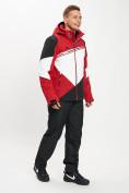 Оптом Горнолыжная куртка мужская красного цвета 77016Kr в Екатеринбурге, фото 10