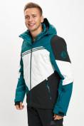 Оптом Горнолыжная куртка мужская темно-зеленого цвета 77016TZ в Екатеринбурге, фото 5