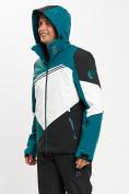 Оптом Горнолыжная куртка мужская темно-зеленого цвета 77016TZ в Екатеринбурге, фото 9