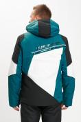 Оптом Горнолыжная куртка мужская темно-зеленого цвета 77016TZ в Екатеринбурге, фото 7