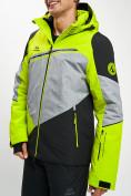 Оптом Горнолыжная куртка мужская зеленого цвета 77016Z в Екатеринбурге, фото 6
