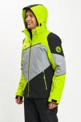 Оптом Горнолыжная куртка мужская зеленого цвета 77016Z в Екатеринбурге, фото 5