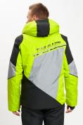 Оптом Горнолыжная куртка мужская зеленого цвета 77016Z в Екатеринбурге, фото 10
