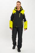 Оптом Горнолыжная куртка мужская желтого цвета 77018J в Екатеринбурге, фото 3