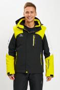 Оптом Горнолыжная куртка мужская желтого цвета 77018J в Екатеринбурге, фото 6
