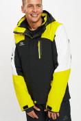 Оптом Горнолыжная куртка мужская желтого цвета 77018J в Екатеринбурге, фото 7
