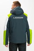Оптом Горнолыжная куртка мужская зеленого цвета 77018Z в Екатеринбурге, фото 5