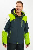 Оптом Горнолыжная куртка мужская зеленого цвета 77018Z в Екатеринбурге, фото 7