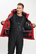 Оптом Горнолыжная куртка мужская красного цвета 77019Kr в Екатеринбурге, фото 2