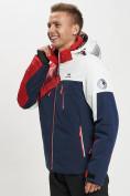 Оптом Горнолыжная куртка мужская красного цвета 77019Kr в Екатеринбурге, фото 10