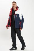 Оптом Горнолыжная куртка мужская красного цвета 77019Kr в Екатеринбурге, фото 13