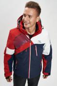 Оптом Горнолыжная куртка мужская красного цвета 77019Kr в Екатеринбурге, фото 4