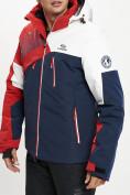 Оптом Горнолыжная куртка мужская красного цвета 77019Kr в Екатеринбурге, фото 5