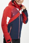 Оптом Горнолыжная куртка мужская красного цвета 77019Kr в Екатеринбурге, фото 6