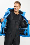 Оптом Горнолыжная куртка мужская синего цвета 77019S в Екатеринбурге, фото 11
