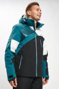 Оптом Горнолыжная куртка мужская темно-зеленого цвета 77019TZ в Екатеринбурге, фото 2