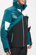 Оптом Горнолыжная куртка мужская темно-зеленого цвета 77019TZ в Екатеринбурге, фото 3