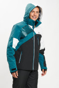 Оптом Горнолыжная куртка мужская темно-зеленого цвета 77019TZ в Екатеринбурге, фото 6