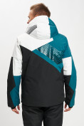 Оптом Горнолыжная куртка мужская темно-зеленого цвета 77019TZ в Екатеринбурге, фото 7