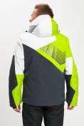 Оптом Горнолыжная куртка мужская зеленого цвета 77019Z в Екатеринбурге, фото 5