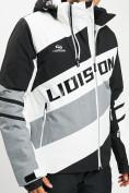 Оптом Горнолыжная куртка мужская белого цвета 77022Bl в Екатеринбурге, фото 4