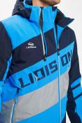 Оптом Горнолыжная куртка мужская синего цвета 77022S в Екатеринбурге, фото 6