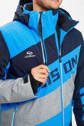 Оптом Горнолыжная куртка мужская синего цвета 77022S в Екатеринбурге, фото 7