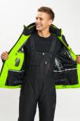 Оптом Горнолыжная куртка мужская зеленого цвета 77022Z в Екатеринбурге, фото 9