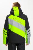 Оптом Горнолыжная куртка мужская зеленого цвета 77022Z в Екатеринбурге, фото 8