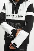 Оптом Горнолыжная куртка анорак мужская белого цвета 77024Bl в Екатеринбурге, фото 5