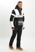 Оптом Горнолыжная куртка анорак мужская белого цвета 77024Bl в Екатеринбурге, фото 7
