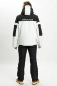 Оптом Горнолыжная куртка анорак мужская белого цвета 77024Bl в Екатеринбурге, фото 9