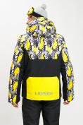 Оптом Горнолыжная куртка анорак мужская желтого цвета 77027J в Екатеринбурге, фото 9
