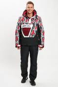 Оптом Горнолыжная куртка анорак мужская красного цвета 77027Kr в Екатеринбурге, фото 11