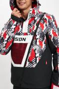 Оптом Горнолыжная куртка анорак мужская красного цвета 77027Kr в Екатеринбурге, фото 8