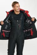 Оптом Горнолыжная куртка мужская большого размера красного цвета 77029Kr в Екатеринбурге, фото 11