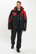 Оптом Горнолыжная куртка мужская большого размера красного цвета 77029Kr в Екатеринбурге, фото 12